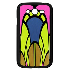 Distorted Symmetrical Shapes Samsung Galaxy Grand Duos I9082 Case (black) by LalyLauraFLM