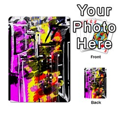 Abstract City View Multi Purpose Cards (rectangle)