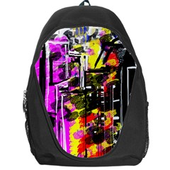 Abstract City View Backpack Bag by digitaldivadesigns