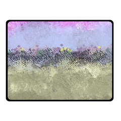 Abstract Garden In Pastel Colors Fleece Blanket (small) by digitaldivadesigns