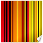 Hot Stripes Fire Canvas 12  x 12   12 x12  Canvas - 1