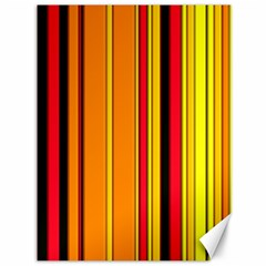 Hot Stripes Fire Canvas 36  X 48