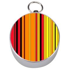 Hot Stripes Fire Silver Compasses by ImpressiveMoments