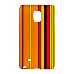 Hot Stripes Fire Galaxy Note Edge by ImpressiveMoments