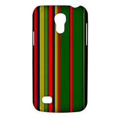 Hot Stripes Grenn Blue Galaxy S4 Mini by ImpressiveMoments