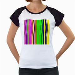 Hot Stripes Rainbow Women s Cap Sleeve T by ImpressiveMoments