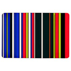 Hot Stripes Red Blue Ipad Air 2 Flip