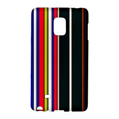 Hot Stripes Red Blue Galaxy Note Edge by ImpressiveMoments