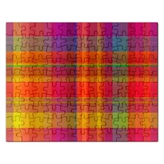Plaid, Hot Rectangular Jigsaw Puzzl by ImpressiveMoments