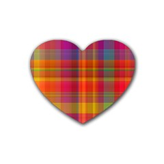 Plaid, Hot Rubber Coaster (heart)