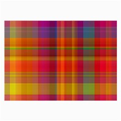 Plaid, Hot Large Glasses Cloth by ImpressiveMoments