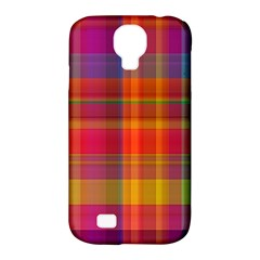 Plaid, Hot Samsung Galaxy S4 Classic Hardshell Case (pc+silicone) by ImpressiveMoments
