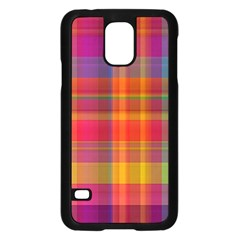 Plaid, Hot Samsung Galaxy S5 Case (black) by ImpressiveMoments
