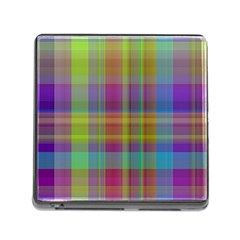 Plaid, Cool Memory Card Reader (square) by ImpressiveMoments
