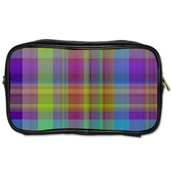 Plaid, Cool Toiletries Bags by ImpressiveMoments