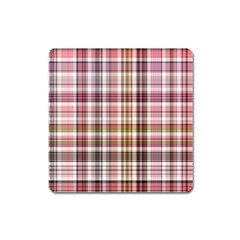 Plaid, Candy Square Magnet
