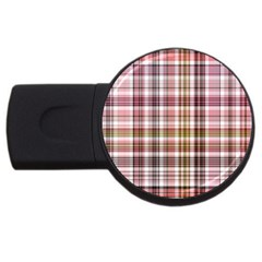 Plaid, Candy Usb Flash Drive Round (2 Gb)  by ImpressiveMoments