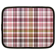Plaid, Candy Netbook Case (xxl)  by ImpressiveMoments