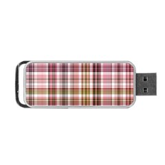 Plaid, Candy Portable Usb Flash (one Side) by ImpressiveMoments