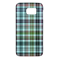 Plaid Ocean Galaxy S6 by ImpressiveMoments