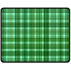 Plaid Forest Fleece Blanket (medium)