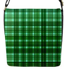 Plaid Forest Flap Messenger Bag (s) by ImpressiveMoments
