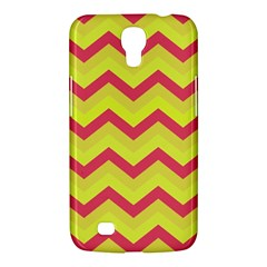 Chevron Yellow Pink Samsung Galaxy Mega 6 3  I9200 Hardshell Case by ImpressiveMoments