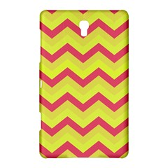 Chevron Yellow Pink Samsung Galaxy Tab S (8 4 ) Hardshell Case  by ImpressiveMoments