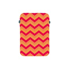 Chevron Peach Apple Ipad Mini Protective Soft Cases by ImpressiveMoments