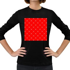 Cute Seamless Tile Pattern Gifts Women s Long Sleeve Dark T-shirts by creativemom