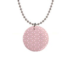 Cute Seamless Tile Pattern Gifts Button Necklaces by creativemom