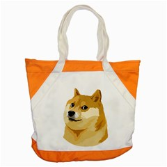 Dogecoin Accent Tote Bag  by dogestore
