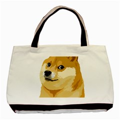 Dogecoin Basic Tote Bag (two Sides)  by dogestore