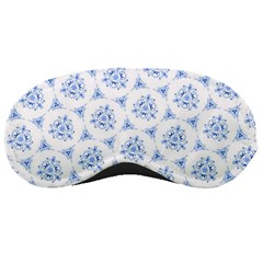 Sweet Doodle Pattern Blue Sleeping Masks by ImpressiveMoments