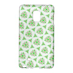 Sweet Doodle Pattern Green Galaxy Note Edge by ImpressiveMoments