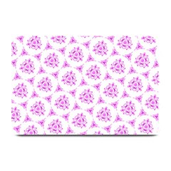 Sweet Doodle Pattern Pink Plate Mats by ImpressiveMoments