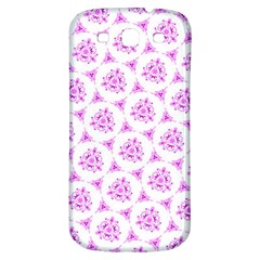Sweet Doodle Pattern Pink Samsung Galaxy S3 S Iii Classic Hardshell Back Case by ImpressiveMoments