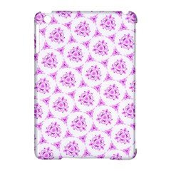 Sweet Doodle Pattern Pink Apple Ipad Mini Hardshell Case (compatible With Smart Cover) by ImpressiveMoments