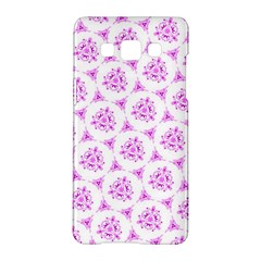 Sweet Doodle Pattern Pink Samsung Galaxy A5 Hardshell Case  by ImpressiveMoments