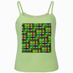 Doodle Pattern Freedom  Green Spaghetti Tanks by ImpressiveMoments