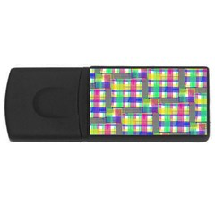 Doodle Pattern Freedom  Usb Flash Drive Rectangular (4 Gb)  by ImpressiveMoments