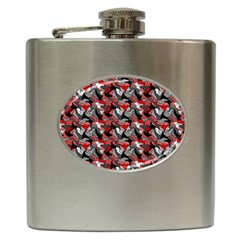 Another Doodle Hip Flask (6 Oz) by ImpressiveMoments