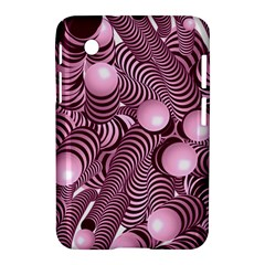 Doodle Fun Pink Samsung Galaxy Tab 2 (7 ) P3100 Hardshell Case  by ImpressiveMoments