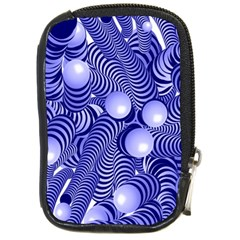 Doodle Fun Blue Compact Camera Cases by ImpressiveMoments