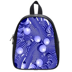 Doodle Fun Blue School Bags (small)  by ImpressiveMoments