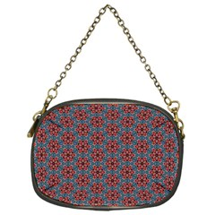 Cute Seamless Tile Pattern Gifts Chain Purses (one Side)