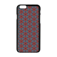 Cute Seamless Tile Pattern Gifts Apple Iphone 6 Black Enamel Case by creativemom