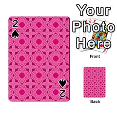 Cute Seamless Tile Pattern Gifts Playing Cards 54 Designs  by creativemom