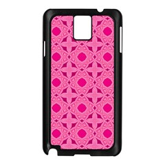 Cute Seamless Tile Pattern Gifts Samsung Galaxy Note 3 N9005 Case (black) by creativemom