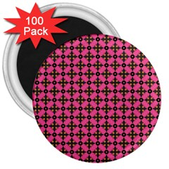 Cute Seamless Tile Pattern Gifts 3  Magnets (100 Pack) by creativemom